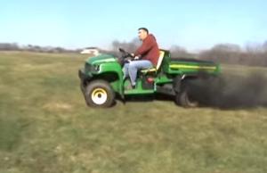turbocharged diesel gator