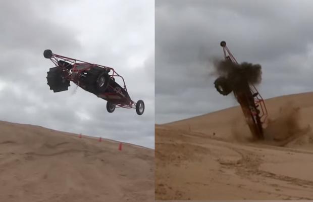 merhcant automotive sand rail wreck