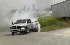 Cummins Dually Burnout