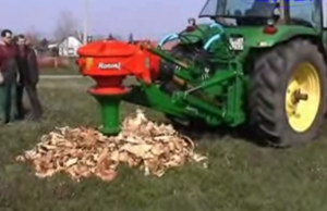 john deere stump grinder