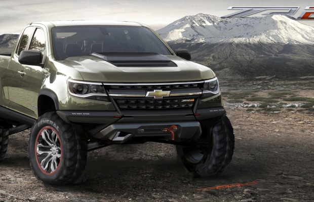 You Have To See The 2015 Colorado Duramax Diesel Concept Black