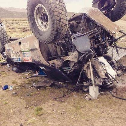 matt campbell dakar crash
