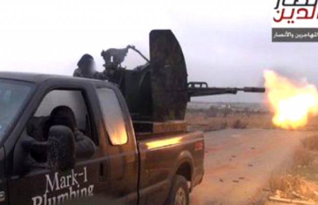 plumber trades truck to isis