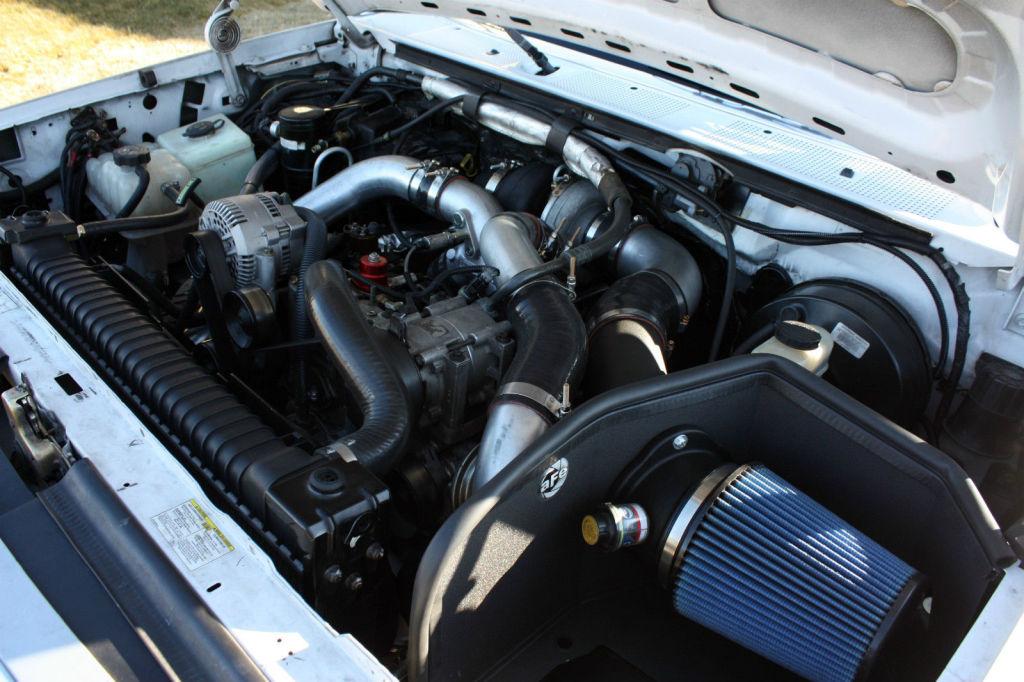7.3 powerstroke triple turbo