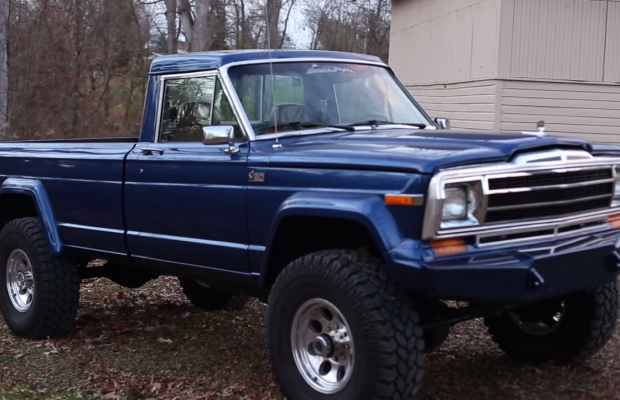 You Have To See This 6BT Cummins Turbo Diesel Jeep J20