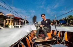diesel longtail drag boat