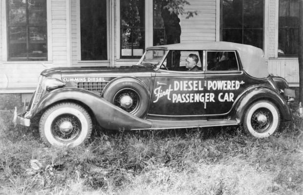 clessie cummins 1936 cadillac