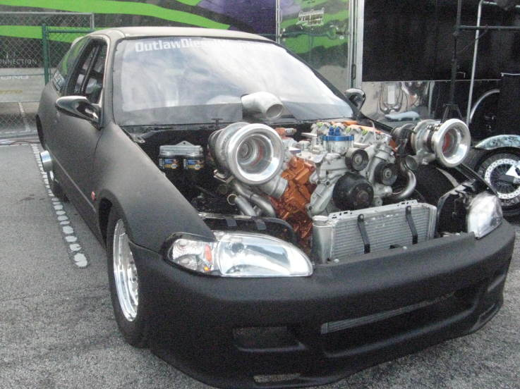 6.0 powerstroke civic swap