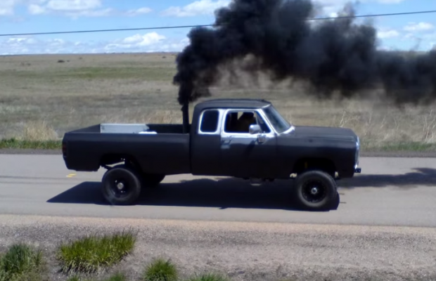 1st gen cummins burnout