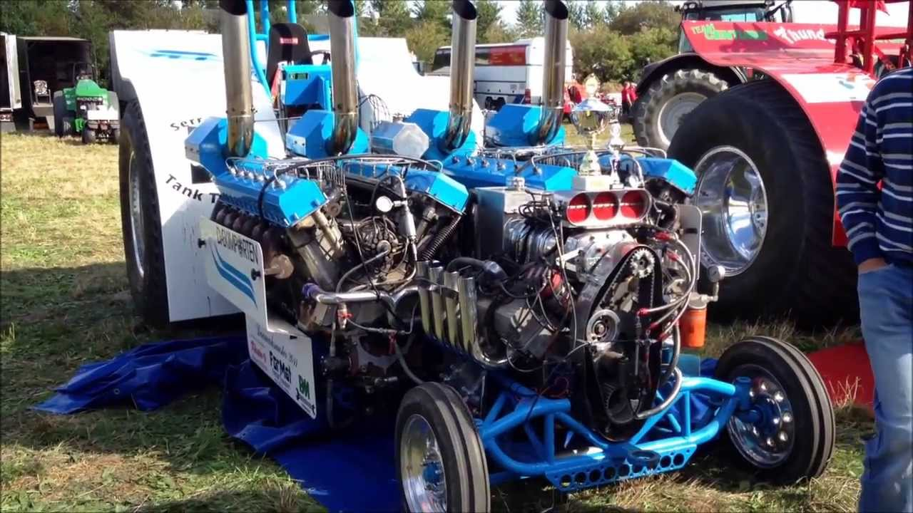 This Is The Most Insane Diesel Pulling Tractor You Will