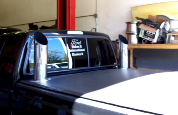 This 6 0 Powerstroke Has A Turbo Whistle So Loud It Sounds
