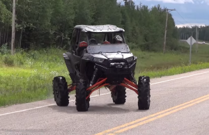 lifted rzr 1000