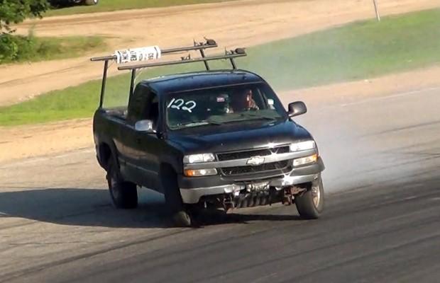 chevy 2500 work truck drift