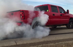 huge duramax burnout