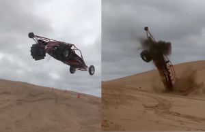 merhcant automotive sand rail wreck