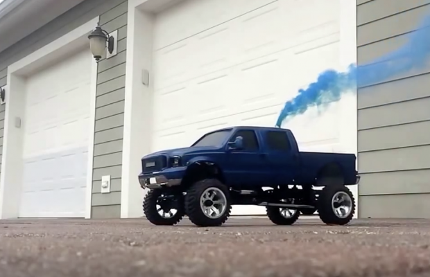 Scx10 F250 R C Truck Rollin Little Coal