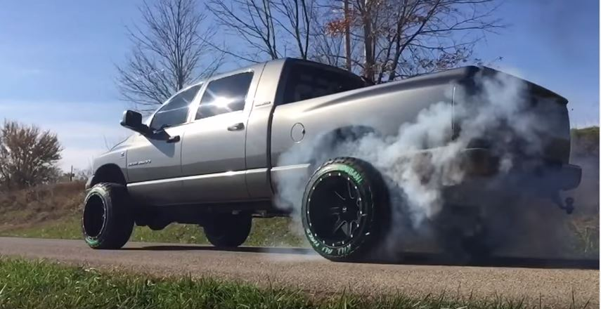 Diesel Truck Shenanigans Black Smoke Media