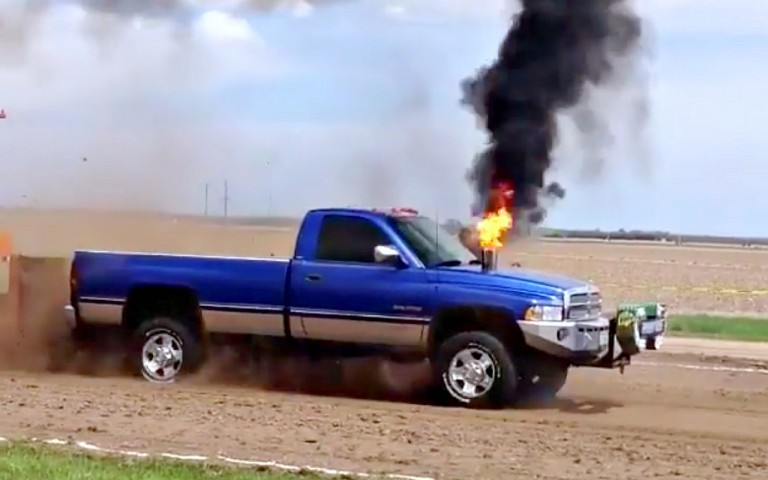 cummins flame out stack
