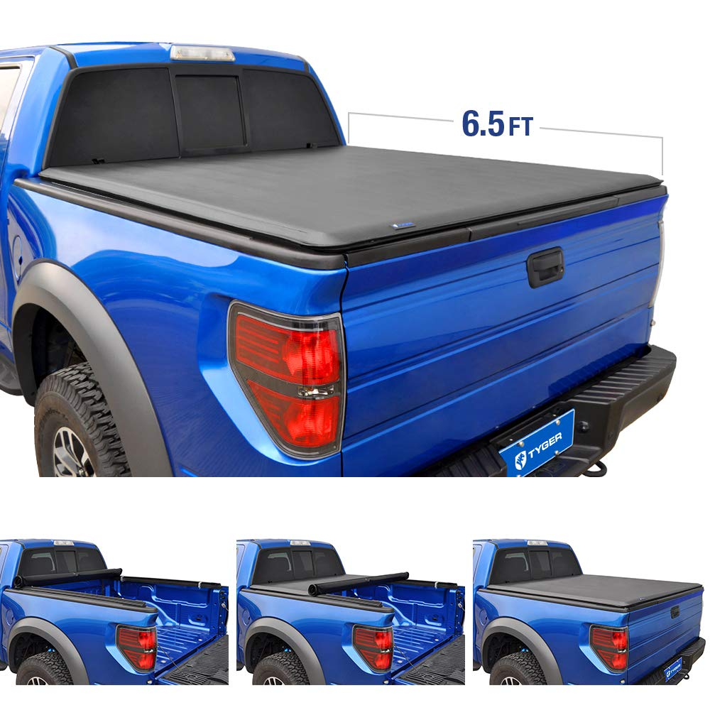 Tyger Auto T1 Roll Up Truck Tonneau Cover TG-BC1F9030