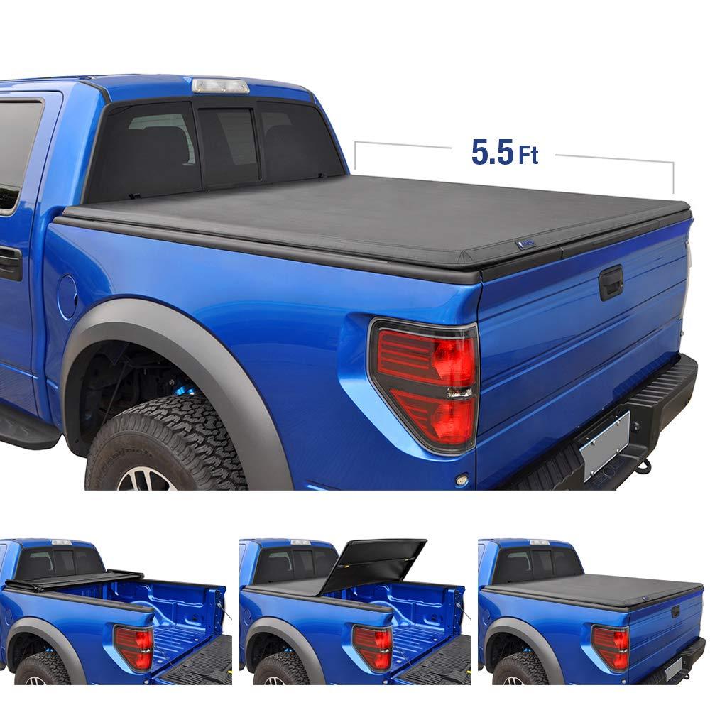 Tyger Auto T3 Tri-Fold Truck Tonneau Cover TG-BC3F1041
