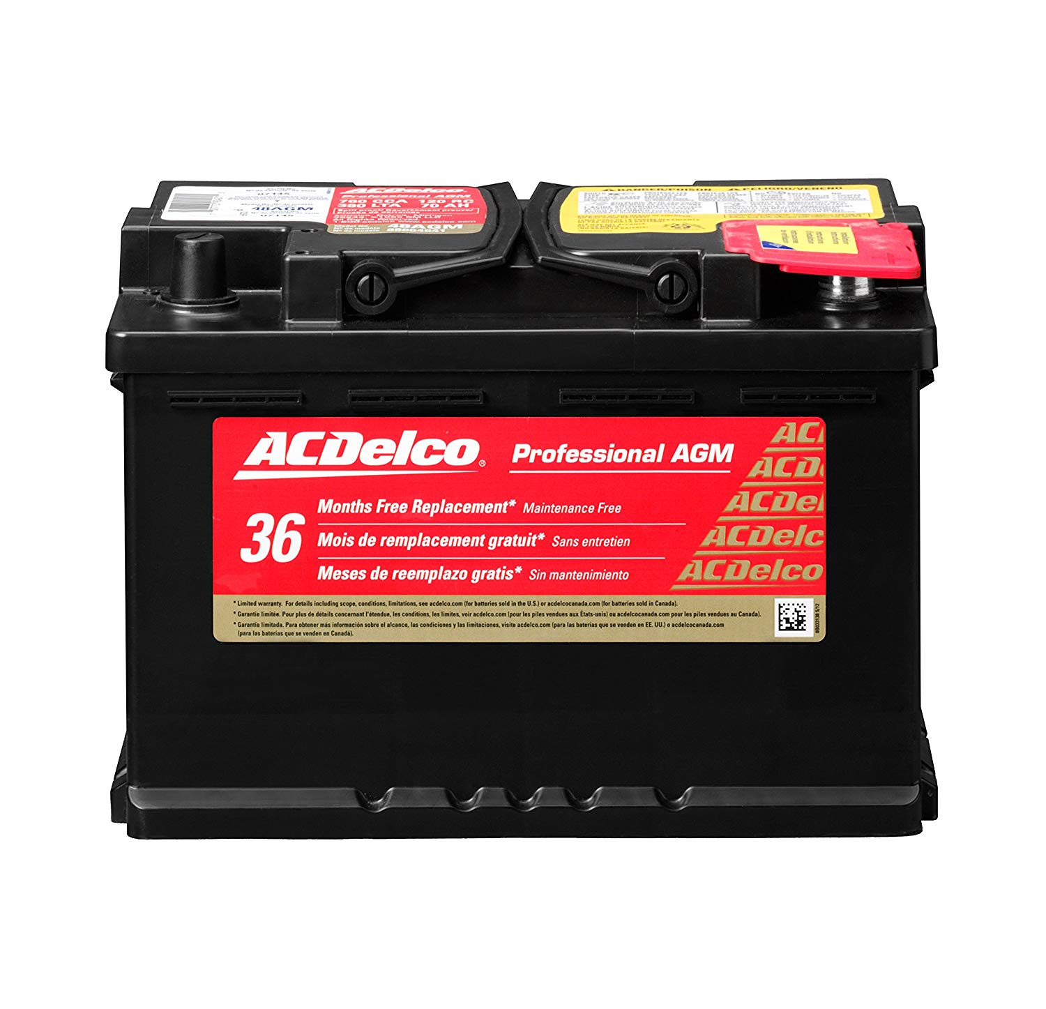 ACDelco truck battery