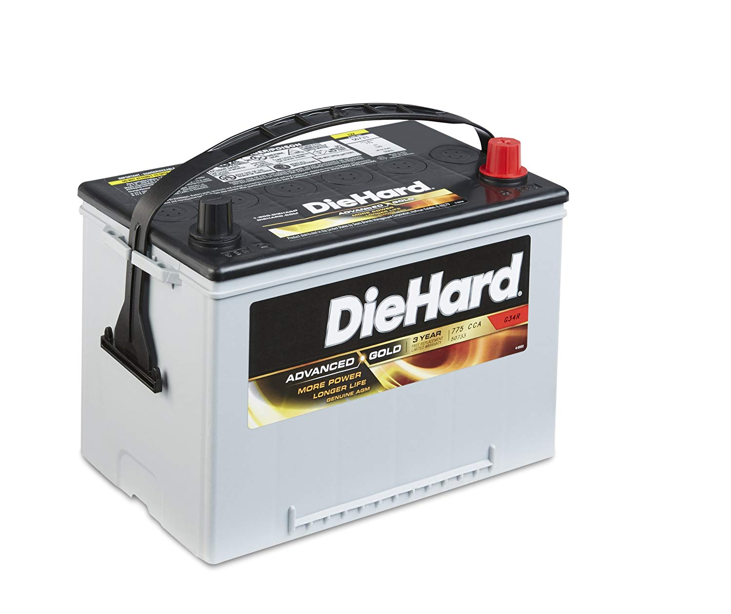 die hard truck battery
