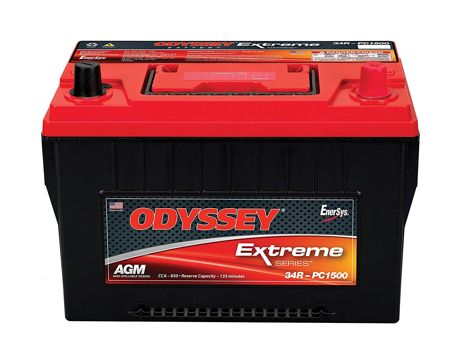 Odyssey Extreme truck battery