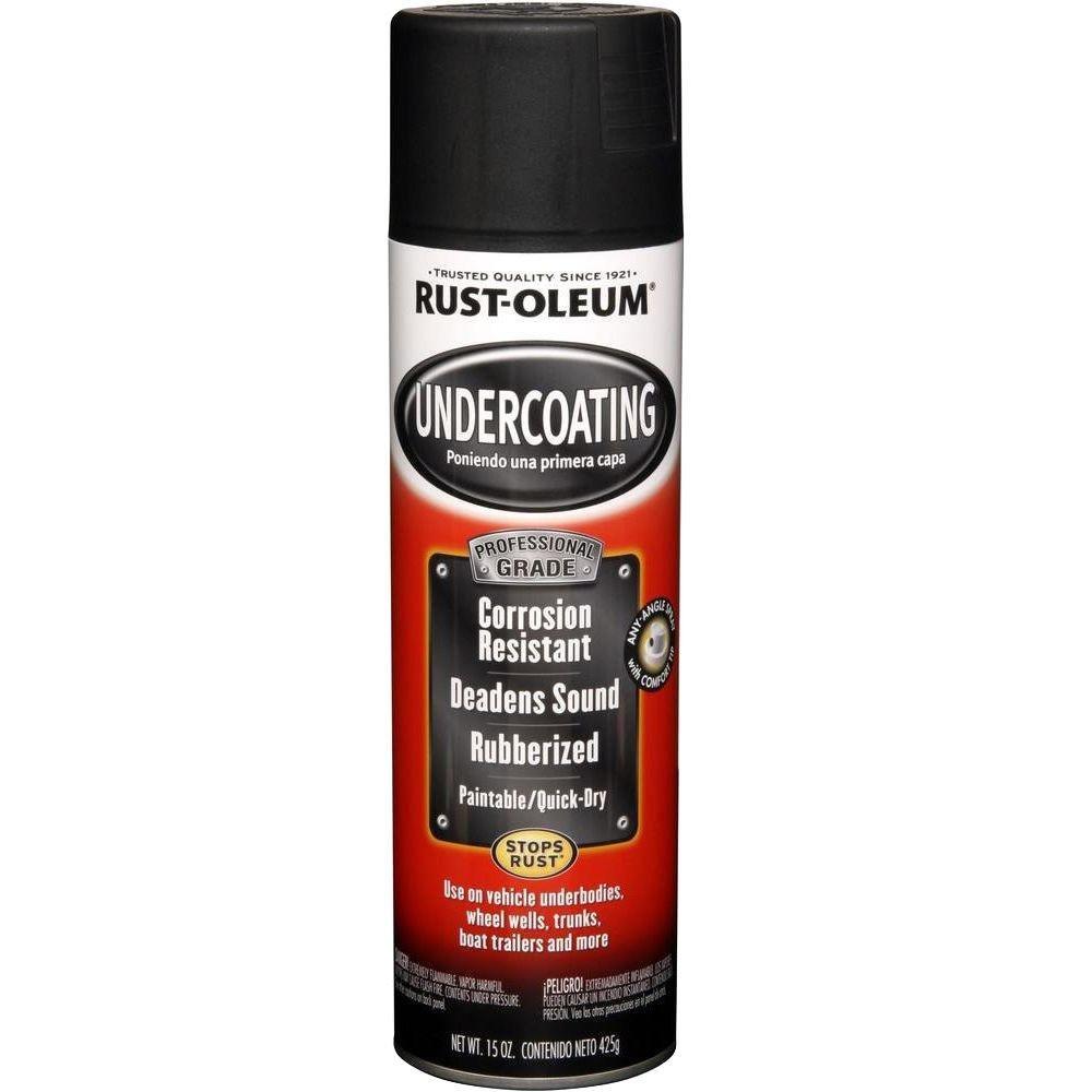 15 oz. Pro Matte Black Undercoating Spray Paint